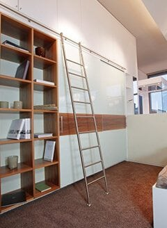 Positionable-Classic-Library-Ladders