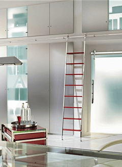 Telescoping-Sliding-Library-Ladders