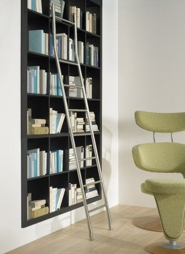 Library ladders are a beautiful addition to your home