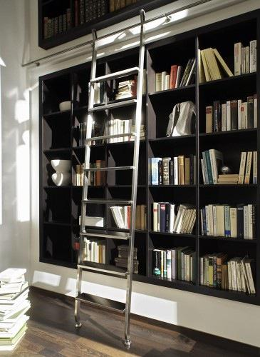 Stainless Steel Library Ladders
