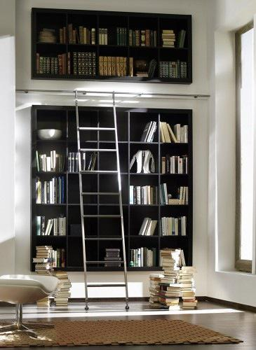 Chic Library Ladder Hardware
