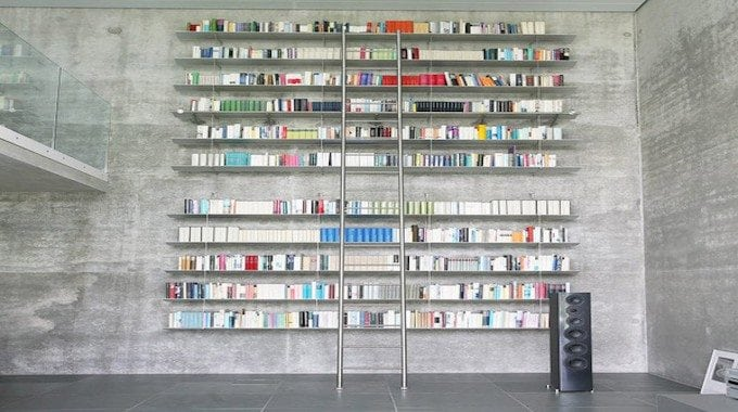 Contemporary Library Ladders ModernStainlessLadderscom