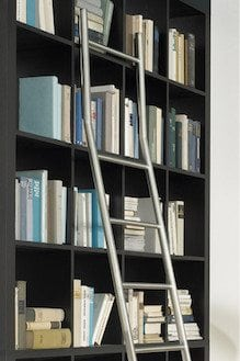 SL.6000.KL Positionable Library Ladder