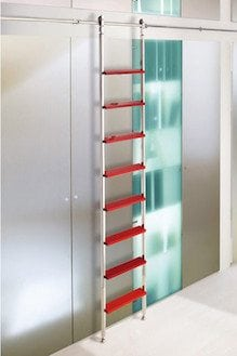 SL.6003.AK Telescoping Library Ladder
