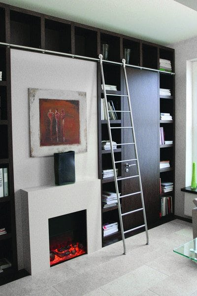 rolling-library-ladder